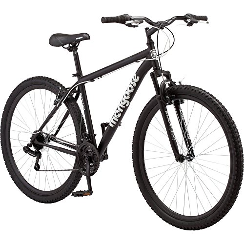 Durable Steel Frame 29' Men's Excursion Mountain Bike, Black
