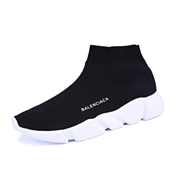 GUNAINDMX Nuevo Zapatillas Mujer Pareja Unisex Transpirable Haut-Haut - Zapatos de Deporte Estudiantes - Zapatos de Deporte Calcetines Zapatillas Sneakers ...