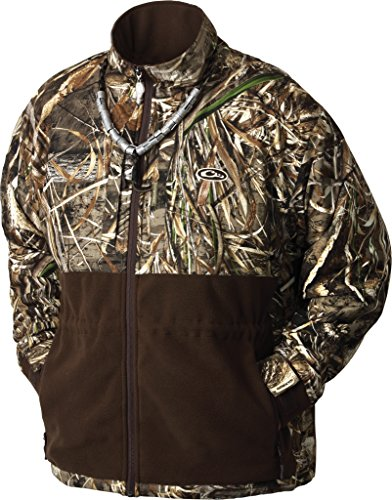 Drake Men's MST Realtree Max-5 Eqwader Plus Full Zip, XX-Large