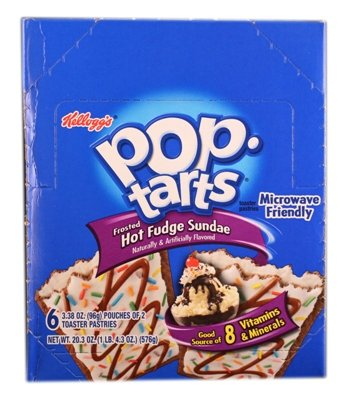 Kellogg's Pop Tarts Frosted Hot Fudge Sundae by Kellogg's