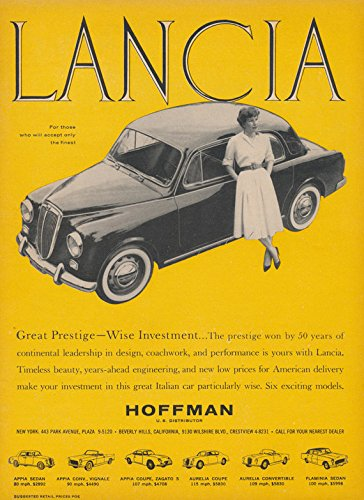 Amazon 1959 Lancia Appia Sedan Great Prestige Wise