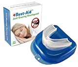 Snoring Solution by Rest-Aid, Snoring Mouthpiece, Snore Stopper, Anti Snoring Devices, Teeth Grinding''Make Sleep A BORE, Without All The Snore''