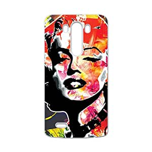 Marilyn colour Case Cover For LG G3 Case