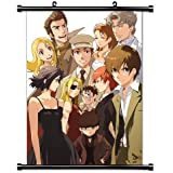 Baccano Anime Fabric Wall Scroll Poster (16x22) Inches. [WP]-Baccano-44