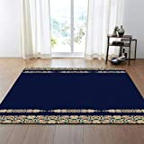 Simple Living Carpets Baby Play Mat Soft Crawling Kids Room Rugs Florals Rectangle Soft Carpet Rugs