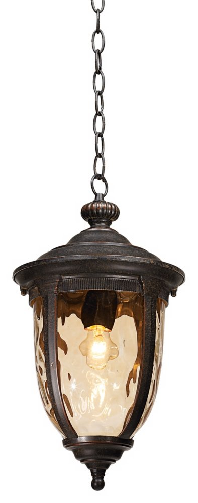 """Bellagio Collection 18"""" High Bronze Outdoor Hanging Light"""