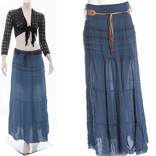 Noir Candy Femme noir Denim 42 Clothing Jupe Asymtrique Cw8Uq