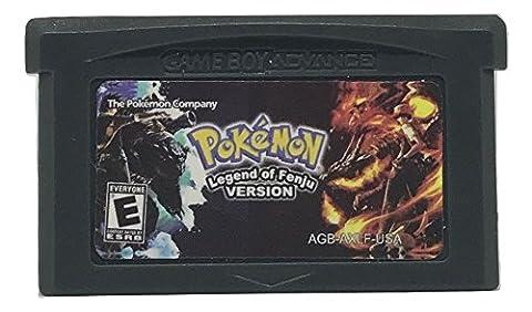 Pokemon Legend of Fenju Version - made for Nintendo Game Boy Advance - Homebrew / Hack / Fan Translation [video game] [Game - Issue Collectors Plate