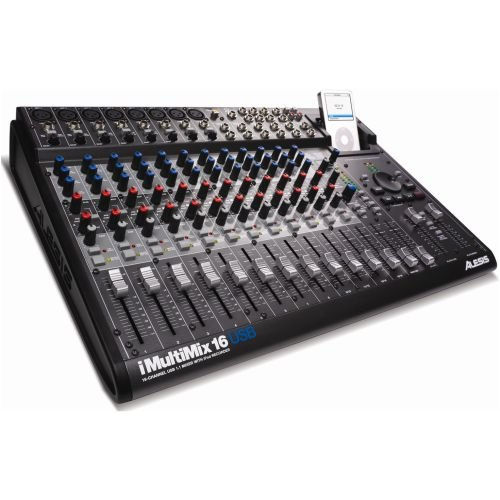 Alesis iMultiMix 16 USB  16-channel Compact Mixer with USB (Alesis Mixers)