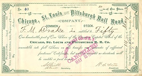 Chicago, St. Louis and Pittsburgh Rail Road Company