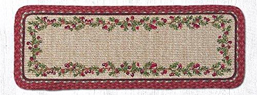 地球ラグジュートテーブルランナーEarthラグww-390 Cranberriesウィッカー織りテーブルランナー13
