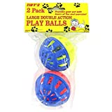 Cat Play Balls 48 Packs of 2