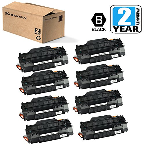 Used, Q7553A 53A Toner Cartridge 8 Pack Replacement for HP for sale  Delivered anywhere in USA