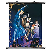 Red Garden Anime Fabric Wall Scroll Poster (32 x 46) Inches[TJ]-Red-15 (L)