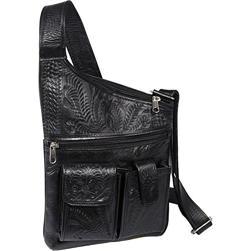 Cross West Over Ropin Bag Crossbody Black 504nwT1W