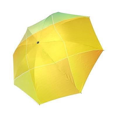 Personalized Colorful Squares Sun Rain Travel Umbrella Waterproof 80%OFF