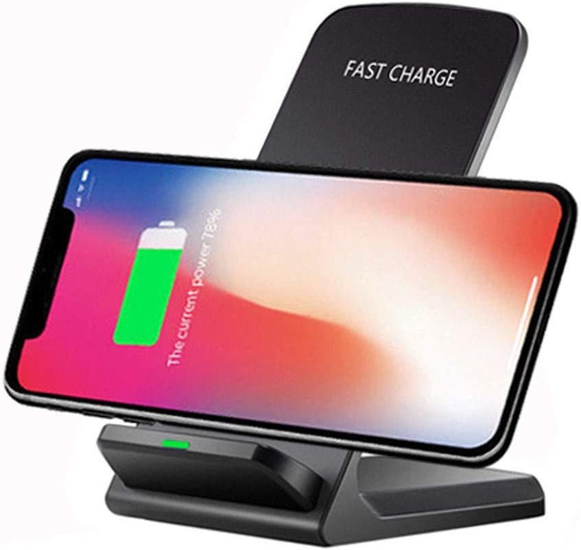 prev ently Fast Wireless Charger, Cargador Qi para iPhone XS