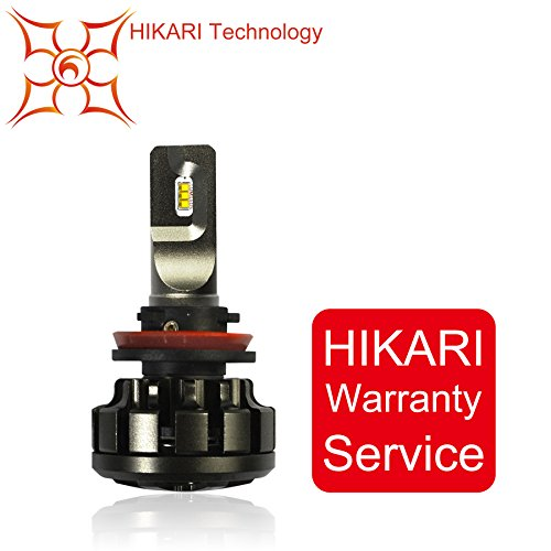 HIKARI LED Ultra Headlight Bulb-H11(Single Bulb)