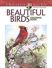 Creative Haven Beautiful Birds Coloring Book Adult
