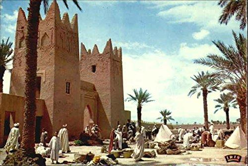 Scenes Et Types Du Maroc, Souk de Tinjdat Tinjdad, Morocco Original Vintage Postcard