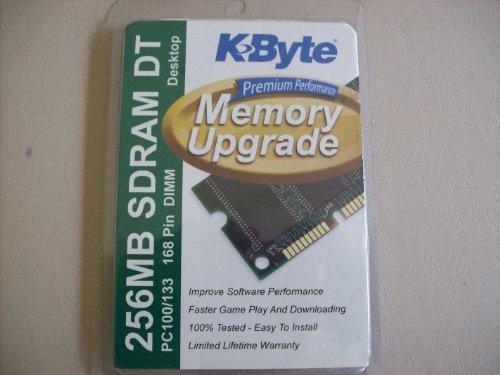 KByte Premium Performance Memory Upgrade 256mb SD (256mb Pc100 Sdram Desktop)