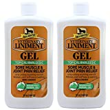 Absorbine Veterinary Liniment Gel (Two 12-oz Squeeze Bottle)