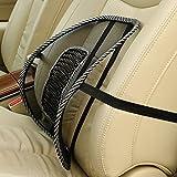 UNAKIM--New Car Seat Office Chair Vent Massage Back Mesh Lumbar Support Cushion Pad Cool