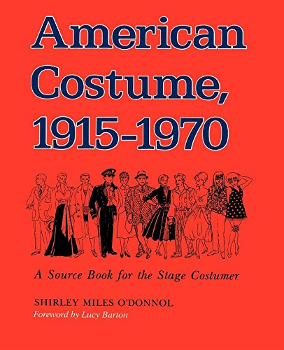 1970's Costumes Australia (American Costume 1915-1970: A Source Book for the Stage Costumer (Midland Book, MB 543))