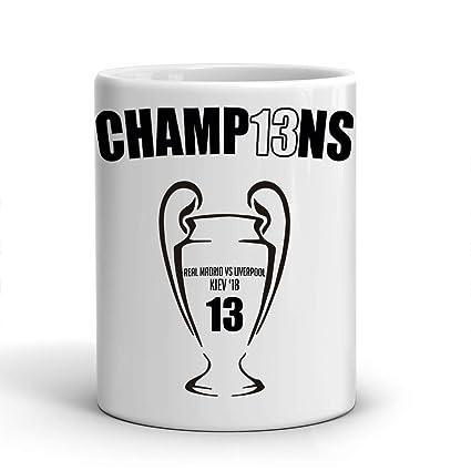 El Baúl Gráfico Taza Real Madrid - 13 Champions - Décimo Tercera