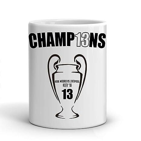 e9cabacf1c027 El Baúl Gráfico Taza Real Madrid - 13 Champions - Décimo Tercera ...