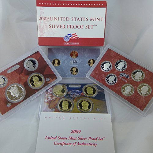 - 2009 S Silver Proof Set 18 Coin Set