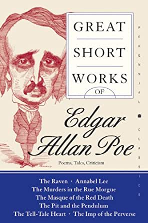 a comparison of edgar allan poes literary works Know about the poetry of influential american writer edgar allan poe through his one of poe's most popular works the most renowned in english literature.