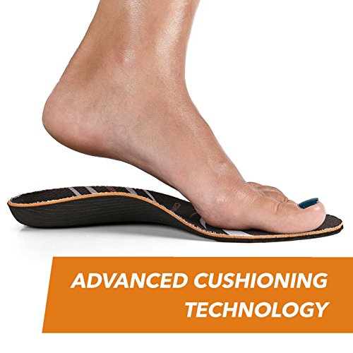 CopperJoint - Copper-Infused Orthotic Insoles, Moisture Wicking Shoe Inserts Offer Firm Arch Support to Help Relieve Foot Soreness, Pair (Large) by CopperJoint (Image #5)