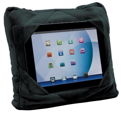 Gogo Pillow - 3-in-1 Travel Pillow, Neck Pillow, Tablet Holder - Black