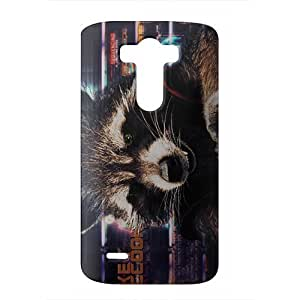 guardians of the galaxy rocket 3D Phone Case for LG G3