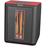 Lifesmart 3 Element 1200W Infrared Quartz Electric Portable Desktop Heater & Fan