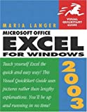 Microsoft Office Excel 2003 for Windows, Maria Langer, 0321200381