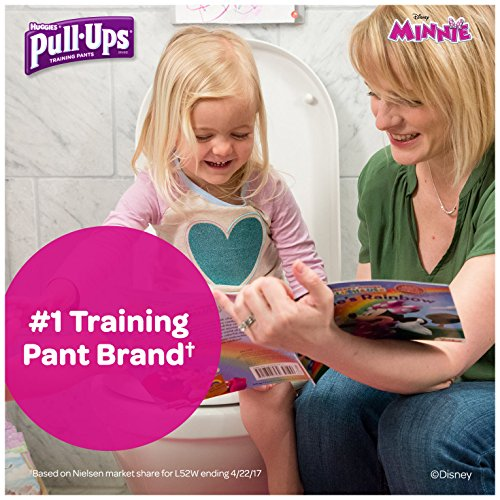Large Product Image of Pull-Ups Learning Designs Training Pants for Girls, 3T-4T (32-40 lbs.), 66 Count, Toddler Potty Training Underwear, Packaging May Vary