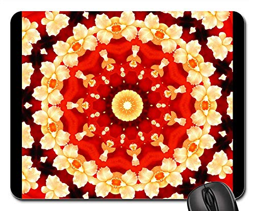Mouse Pads - Abstract Art Abstract Background Orchid