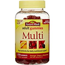 Nature Made Multi Adult Gummies Value Size, 150 Count