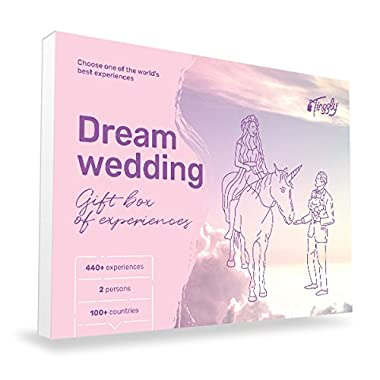 Dream Wedding - Tinggly Experience Gifts Voucher/Gift Card in a Gift Box