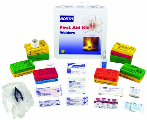 North by Honeywell 019736-0023L Welders First Aid Kit, 24 Unit, Steel