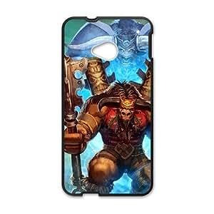 HTC One M7 Black phone case World of Warcraft Baine Bloodhoof WOW9017784