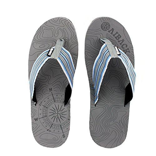 273affbeca4d Kaiback Men s Beachcomber Flip Flop Beach Sandal (8 9