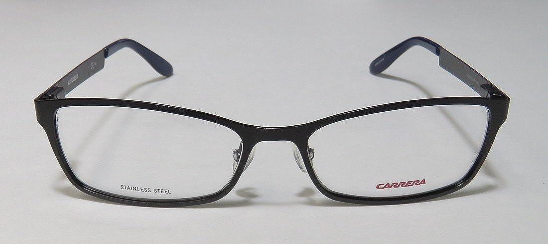 Carrera Metal Rectangular Eyeglasses 53 0003 Matte Black