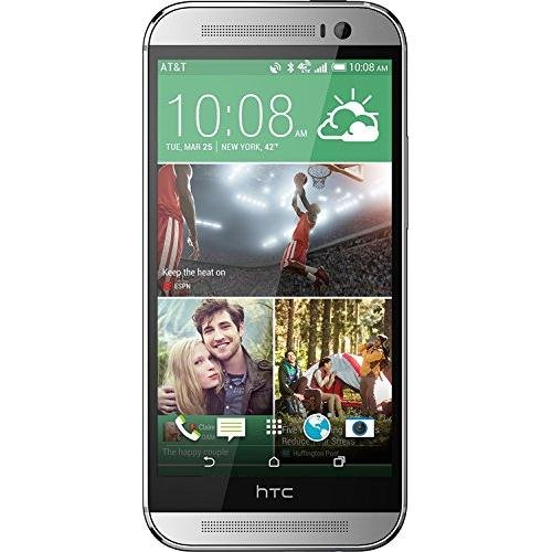 Htc One M8 32Gb 4G Lte Unlocked Gsm Android Cell Phone   Silver