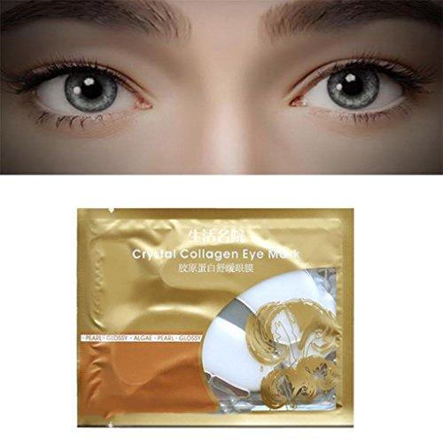 Protection Moisturising - Fheaven (TM) Eye Mask Moisturising White Collagen Eye Gel for Wrinkles Fine Lines Dark Circles/Anti-Aging