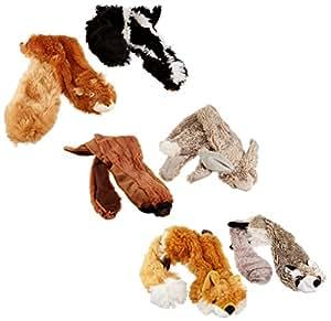 Skineez SKINNEEEZ Skinneez No Stuffing Dog Toy Set Size:Large