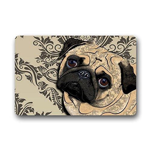 HiDoormat-Crseative-Design-Best-funny-cute-pug-dog-Home-Door-Mats-Doormat-Mat-236-x-157-Inch-Bathroom-Kitchen-Decor-Area-RugFloor-Mat-236-X-157-Inch