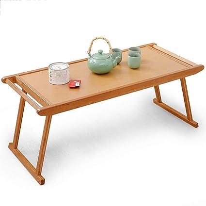 Table Pliante Portable Bambou Bureau Ménage Table Basse ...